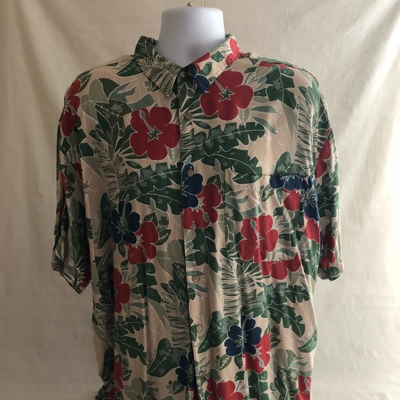 dbcdfc39 Imprints Shirts | Mens Xl Hibiscus Hawaiian Shirt | Poshmark